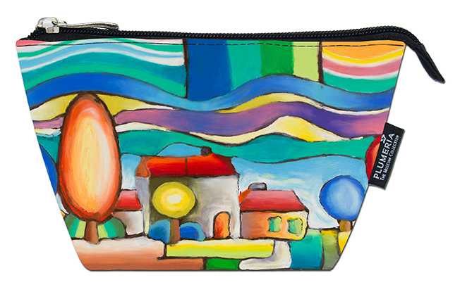 Cosmetic Bag, VIenna, Landscape