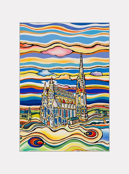 Passe Partout, Vienna, St.Stephens, 39x29cm