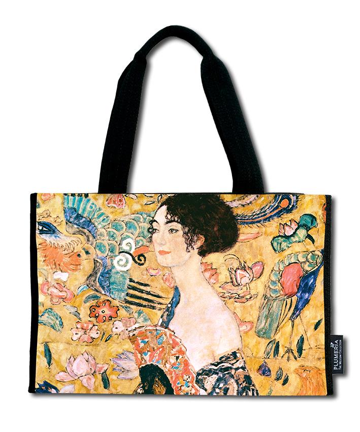 Shopper, Klimt, Women with Fan