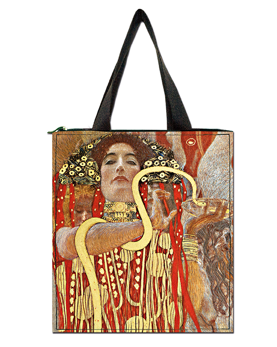 Shopper, Klimt, Hygieia