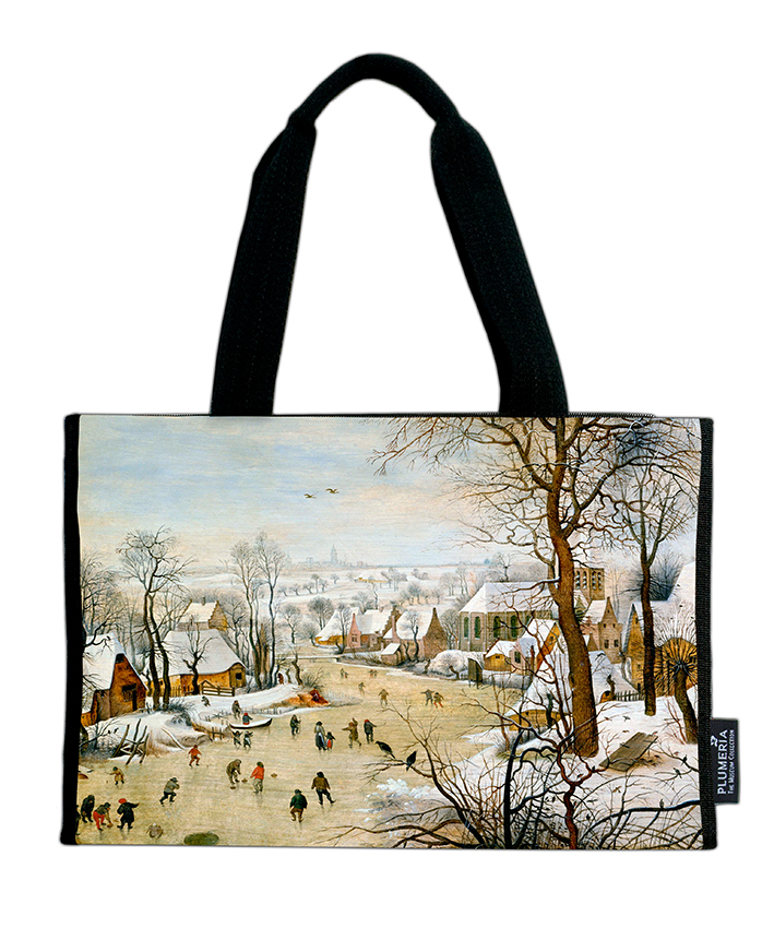Shopper, Bruegel, Winter landscape