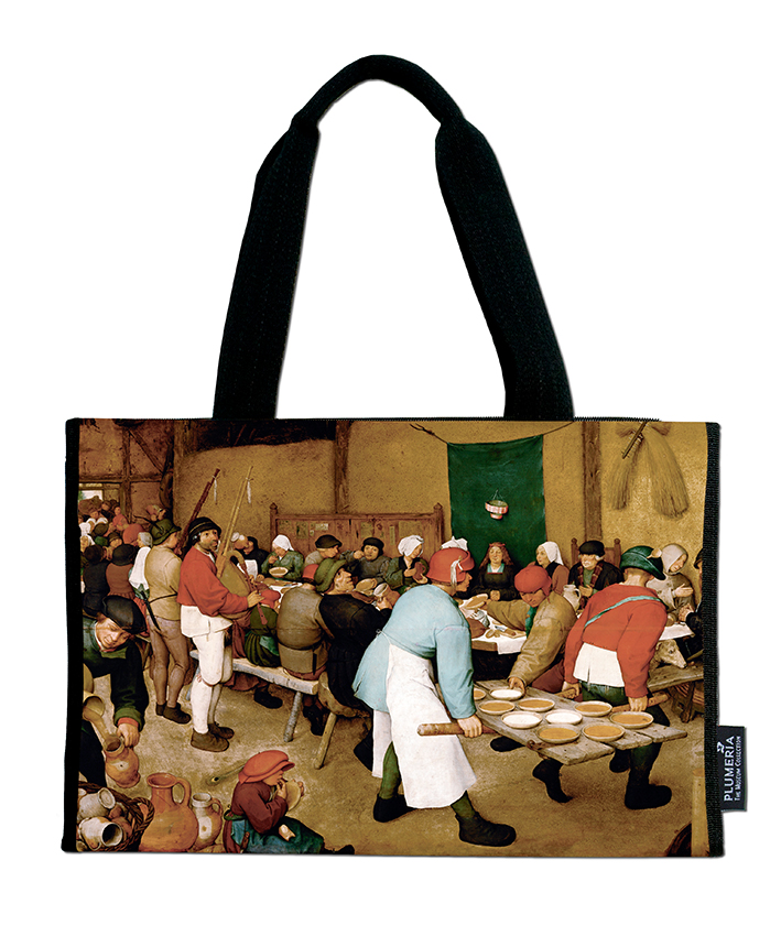Shopper, Bruegel, Peasant Wedding