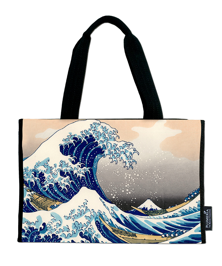 Shopper, Hokusai, Great Wave