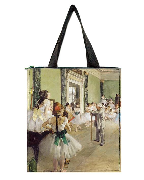 Shopper, Degas, Ballet Class