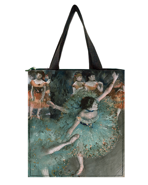 Shopper, Degas, Green Dancer