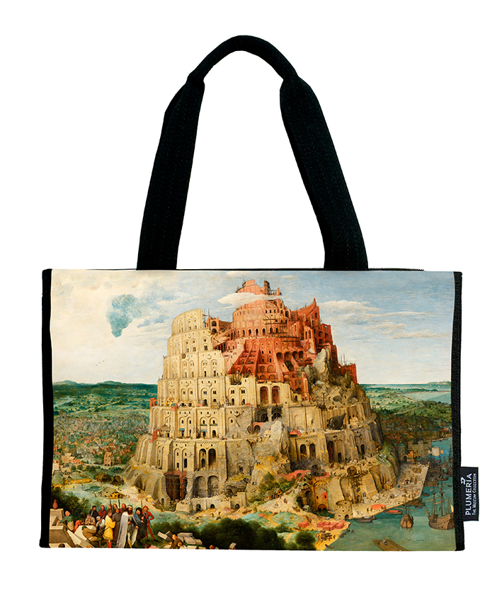 Shopper, Bruegel, Tower of Babel