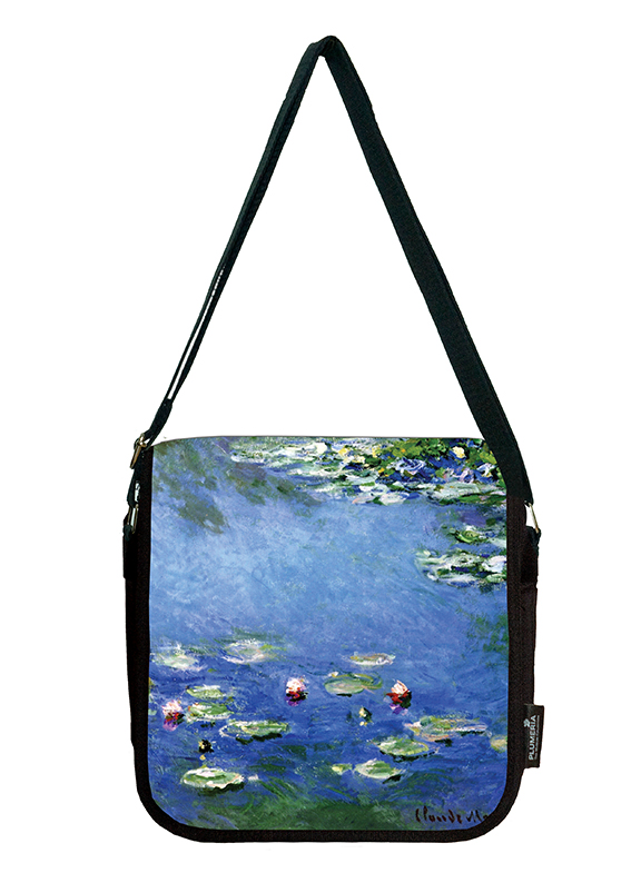 Shoulder Bag, Monet, Waterlilies