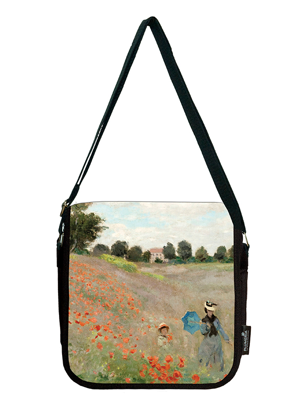 Shoulder Bag, Monet, Poppies near Argenteuil