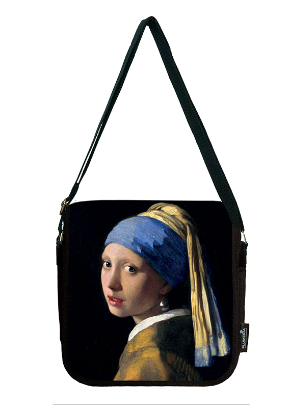 Shoulder Bag, Vermeer, Girl with Pearl-Earring