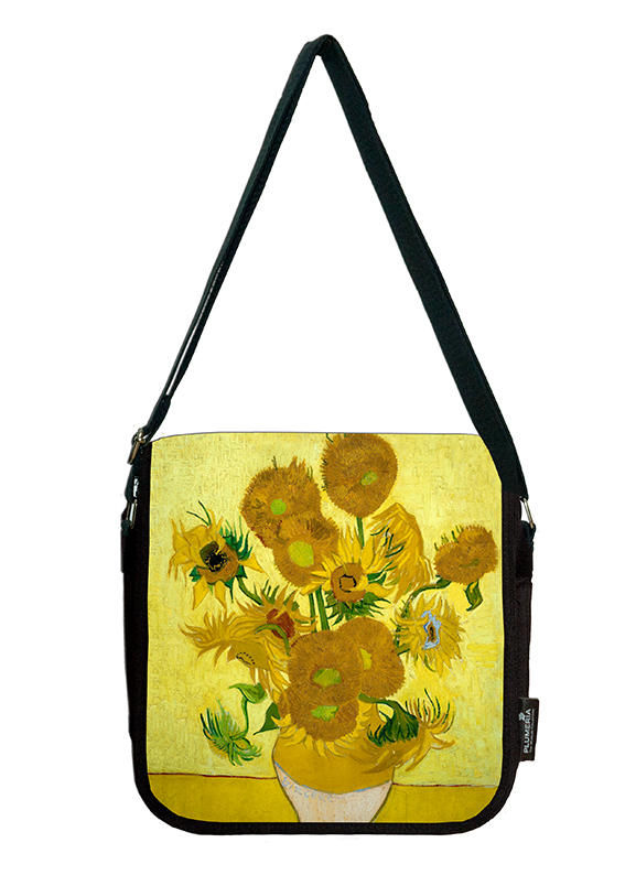 Shoulder Bag, Van Gogh, Sunflowers