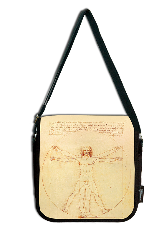 Shoulder Bag, Da Vinci, The Vitruvian Man