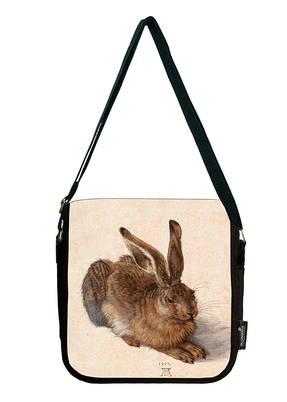 Shoulder Bag, Duerer, A Young Hare