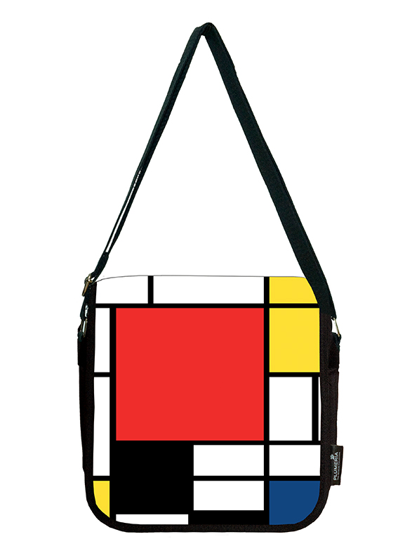Shoulder Bag, Mondrian, Composition