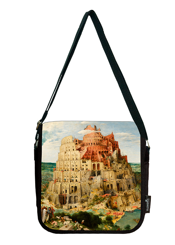 Shoulder Bag, Bruegel, Tower of Babel