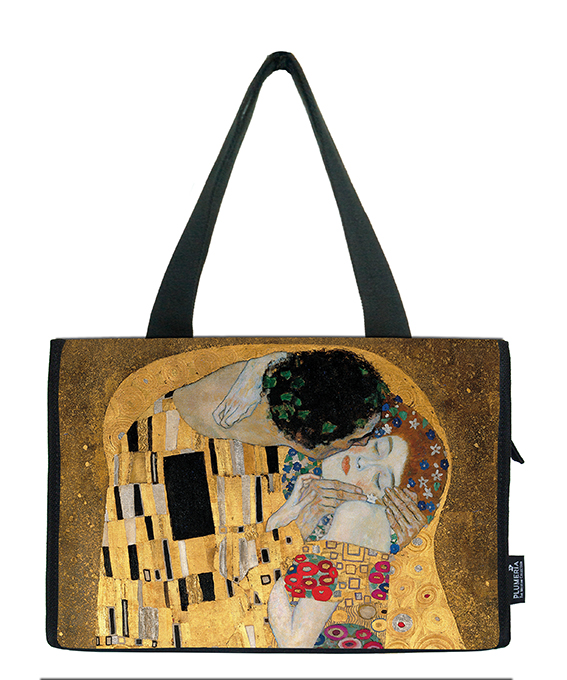 Small Shopper, Klimt, The Kiss