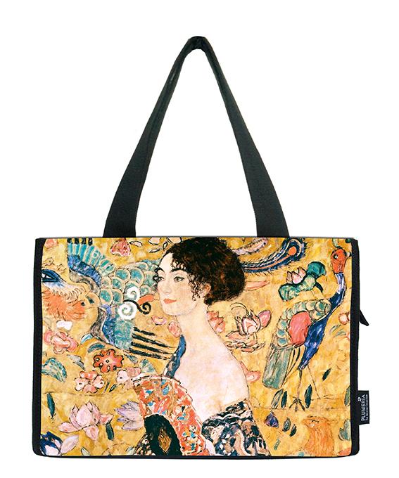Small Shopper, Klimt, Women with Fan