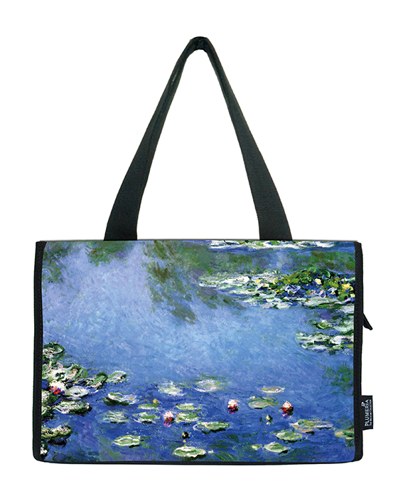 Small Shopper, Monet, Waterlilies