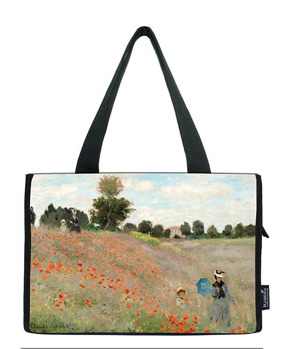 Small Shopper, Monet, Poppies near Argenteuil