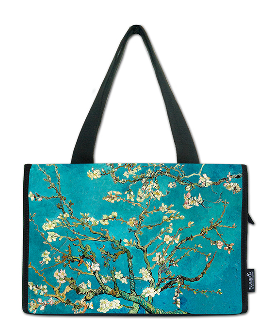 Small Shopper, Van Gogh, Almond blossom