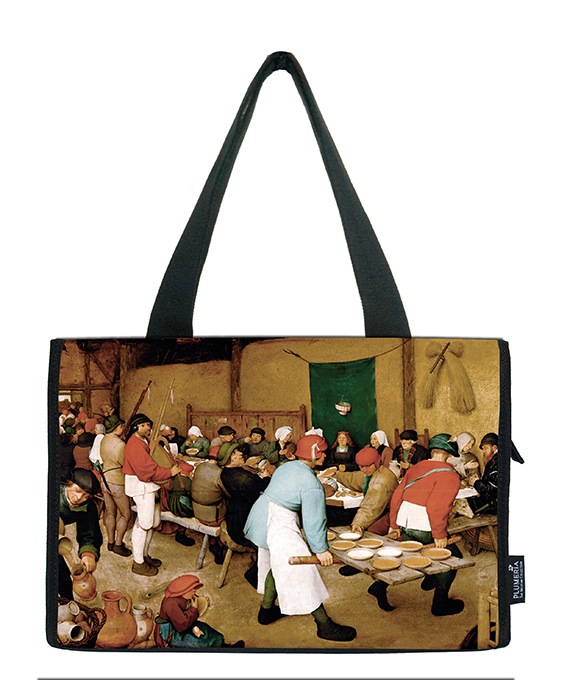 Small Shopper, Bruegel, Peasant Wedding