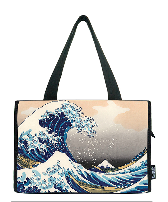 Small Shopper, Hokusai, Great Wave