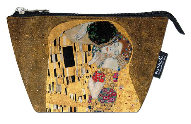 Cosmetic Bag, Klimt, The Kiss