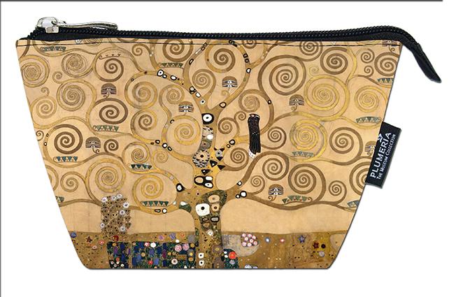 Cosmetic Bag, Klimt, Tree of Life