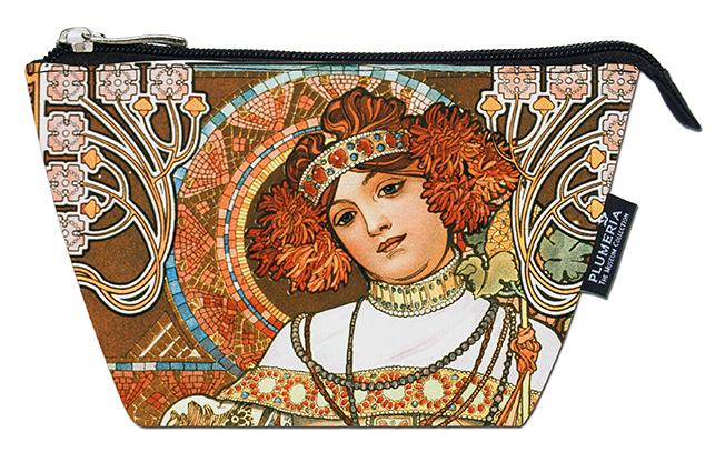 Cosmetic Bag, Mucha, Autumn