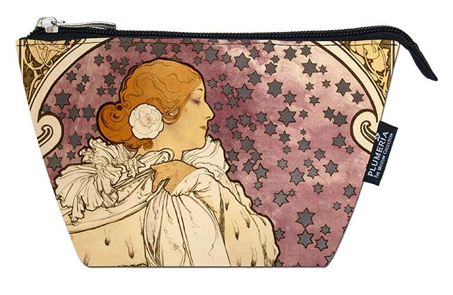 Cosmetic Bag, Mucha, La Dame Aux Camelias