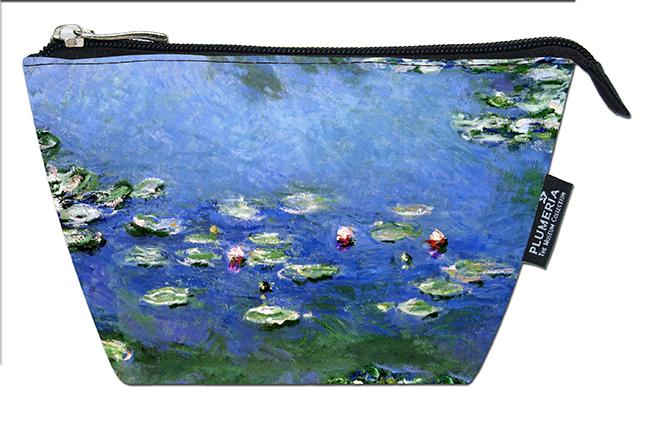 Cosmetic Bag, Monet, Waterlilies