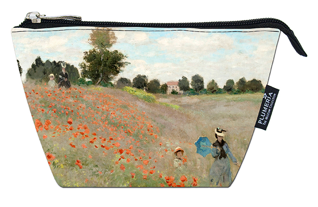 Cosmetic Bag, Monet, Poppies near Argenteuil