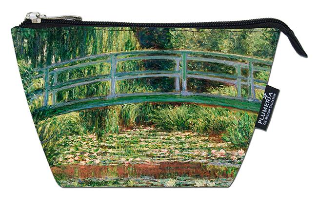 Cosmetic Bag, Monet, Japanese Bridge