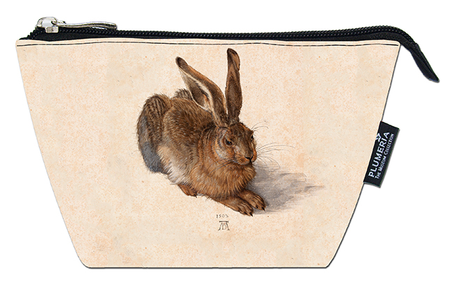 Cosmetic Bag, Duerer, A Young Hare