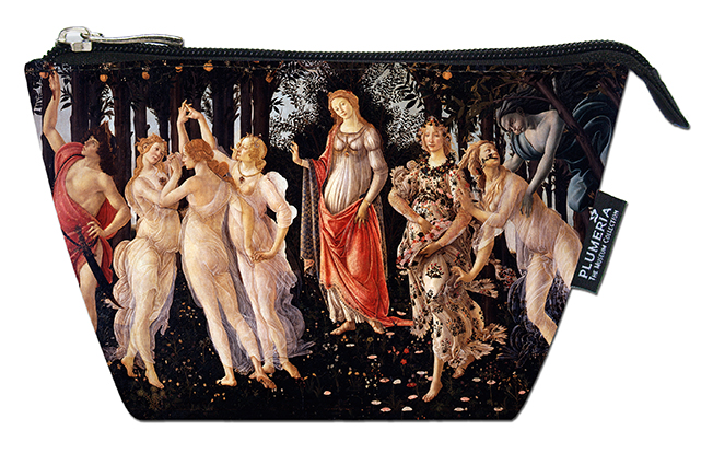 Cosmetic Bag, Botticelli, La Primavera