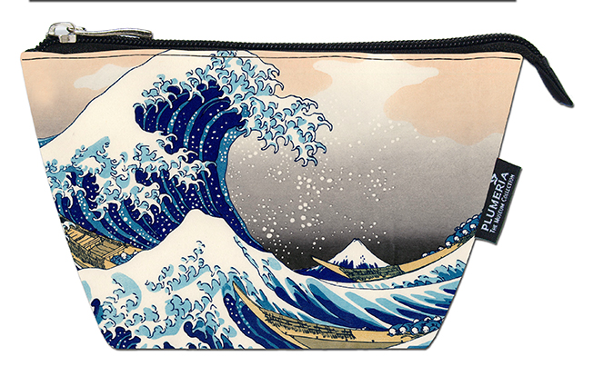 Cosmetic Bag, Hokusai, Great Wave