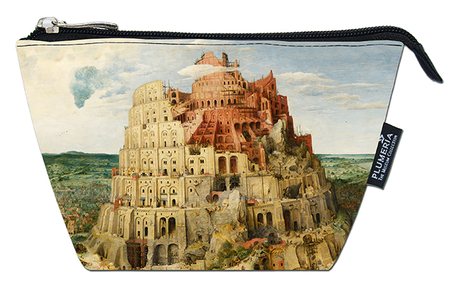 Cosmetic Bag, Bruegel, Tower of Babel