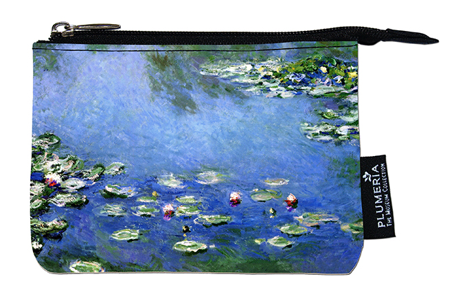 Coin Purse, Monet, Waterlilies