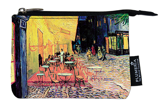 Coin Purse, Van Gogh, Cafe Terrace