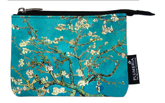 Coin Purse, Van Gogh, Almond Blossom