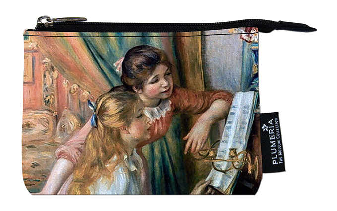 Coin Purse, Renoir, Two Girls at the Piano