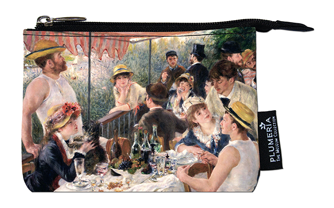 Coin Purse, Renoir, Luncheon at the boating party