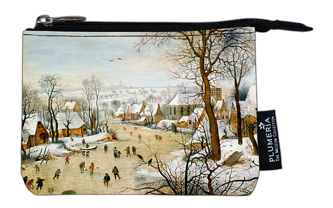 Coin Purse, Bruegel, Winter landscape