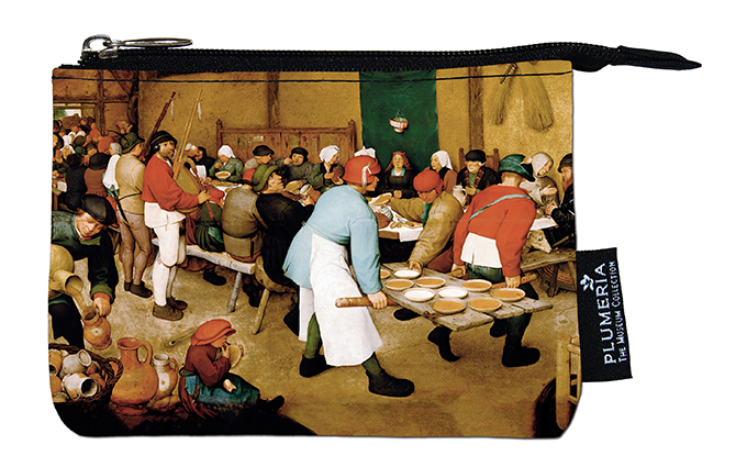Coin Purse, Bruegel, Peasant Wedding