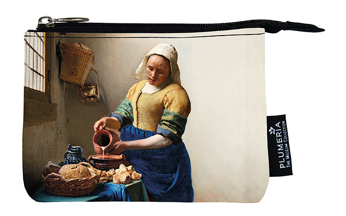 Coin Purse, Vermeer, The Milkmaid