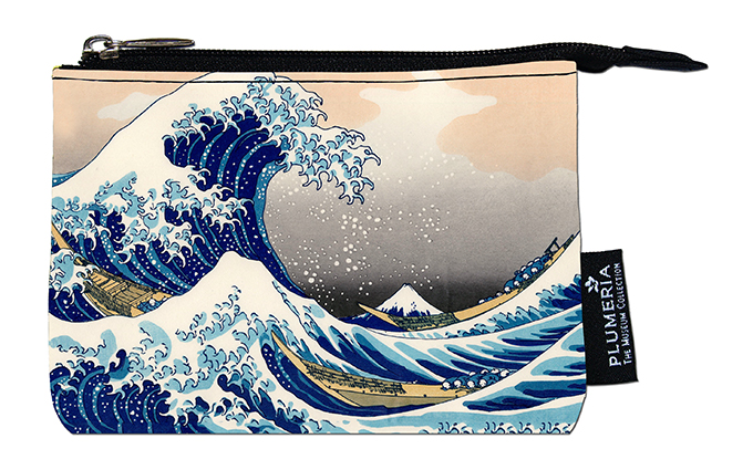 Coin Purse, Hokusai, Great Wave