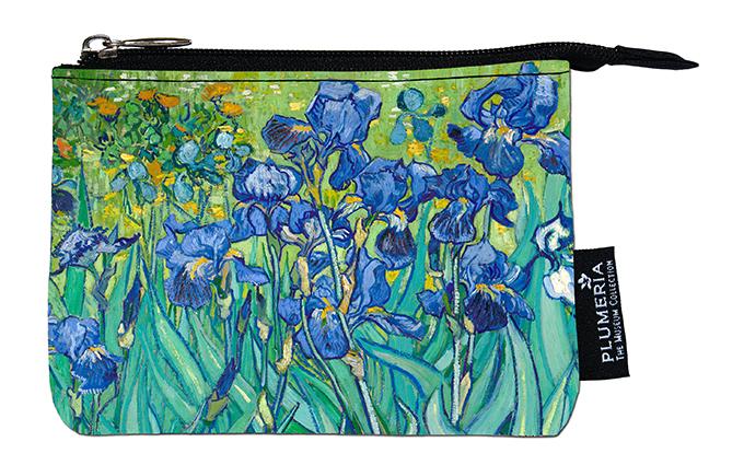 Coin Purse, Van Gogh, Irises