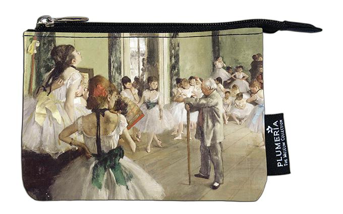 Coin Purse, Degas, Ballet Class