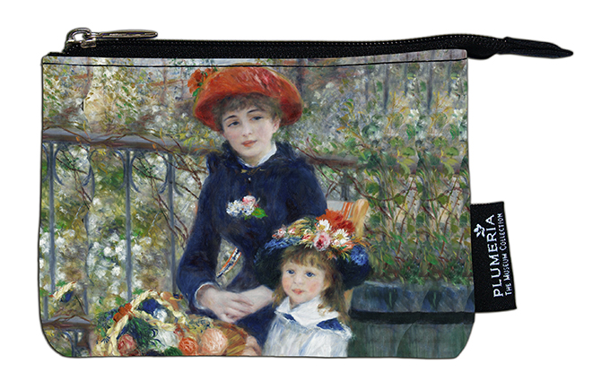 Coin Purse, Renoir, Two sisters
