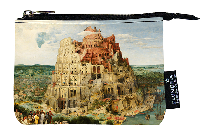 Coin Purse, Bruegel, Tower of Babel