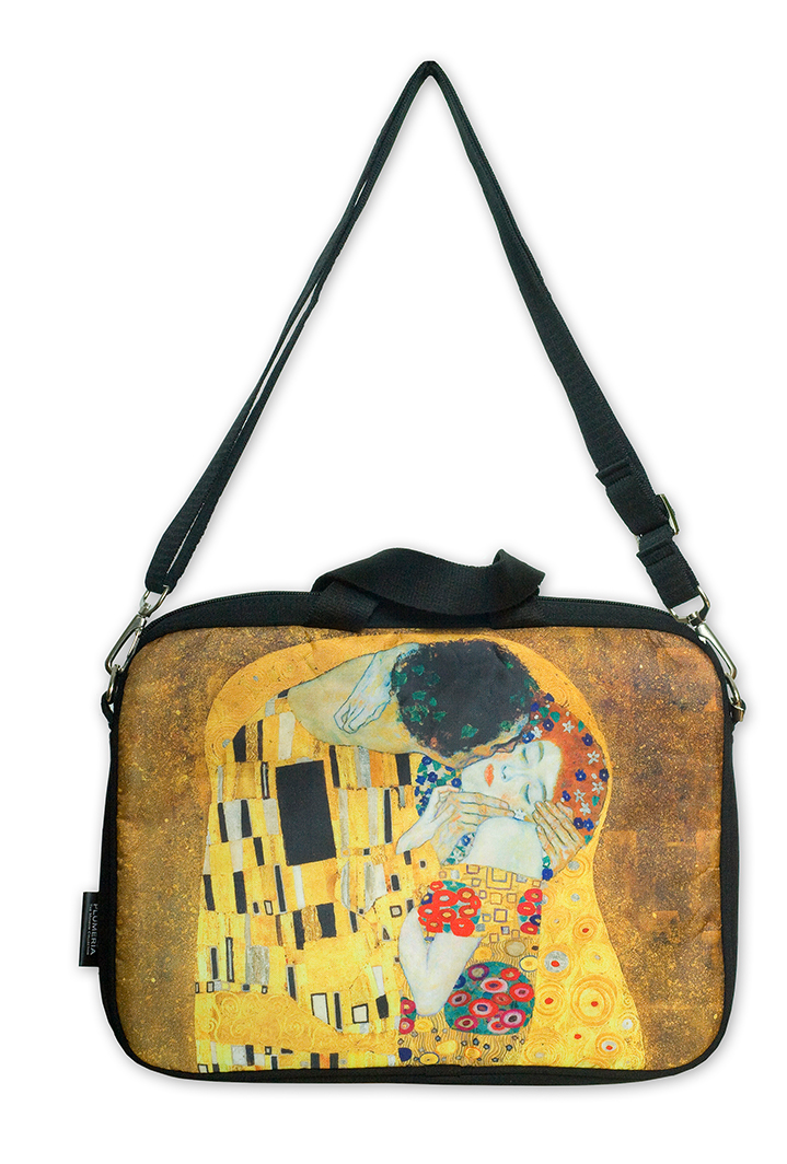 Laptop Bag, Klimt, The Kiss